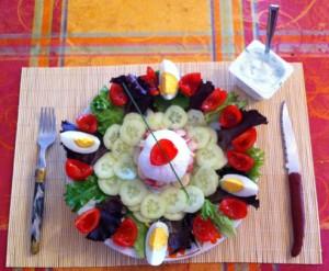 Recette de Salade Minceur «Je Mange, Je Mincis»