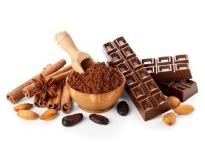 Amandes et chocolat