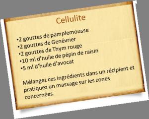 Combattre la Cellulite avec les Huiles Essentielles