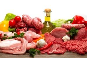 Viande blanche et viande rouge
